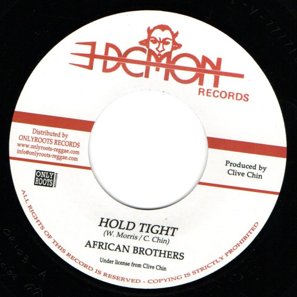 The African Brothers : Hold Tight   Single / 7inch / 45T     Oldies / Classics