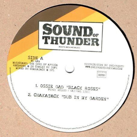 Ossie Gad : Black Roses | Maxi / 10inch / 12inch  |  UK