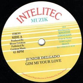 Junior Delgado : Gim Mi Your Love   Single / 7inch / 45T     Oldies / Classics