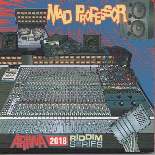 Mad Professor : Ariwa 2018 Riddim Series | LP / 33T  |  UK