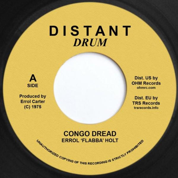 Errol Holt : Congo Dread | Single / 7inch / 45T  |  Oldies / Classics