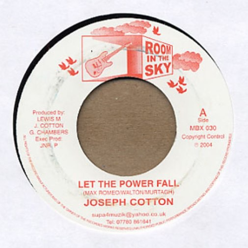 Joseph Cotton : Let The Power Fall | Single / 7inch / 45T  |  Dancehall / Nu-roots