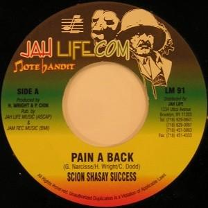 Scion Success : Pain-a-back | Single / 7inch / 45T  |  Oldies / Classics