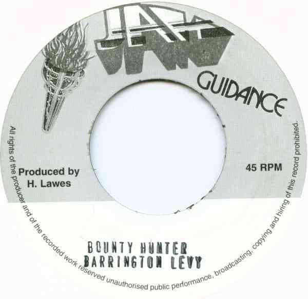 Barrington Levy : Bounty Hunter | Single / 7inch / 45T  |  Oldies / Classics