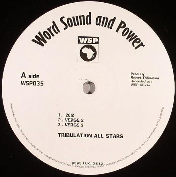 Tribulation All Stars : 2012 | Maxi / 10inch / 12inch  |  Dancehall / Nu-roots
