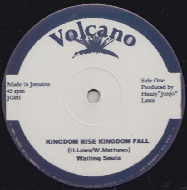 Wailing Souls : Kingdom Rise And Kingdom Fall   Maxi / 10inch / 12inch     Oldies / Classics