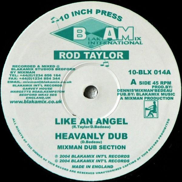 Rod Taylor : Like An Angel   Maxi / 10inch / 12inch     UK