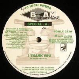 Special A : I Thank You | Maxi / 10inch / 12inch  |  UK