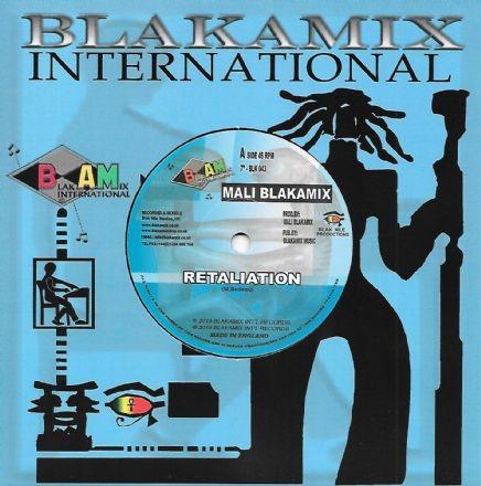 Mali Blakamix : Retaliation   Single / 7inch / 45T     UK