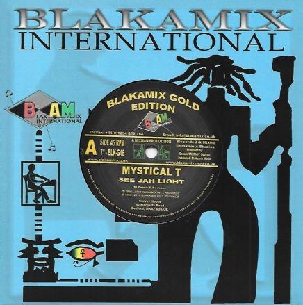 Mystical T : See Jah Light   Single / 7inch / 45T     UK