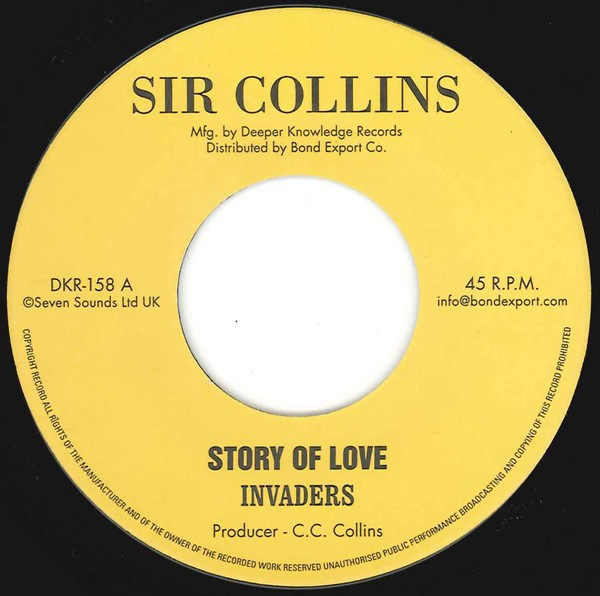 Invaders : Story Of Love | Single / 7inch / 45T  |  Oldies / Classics