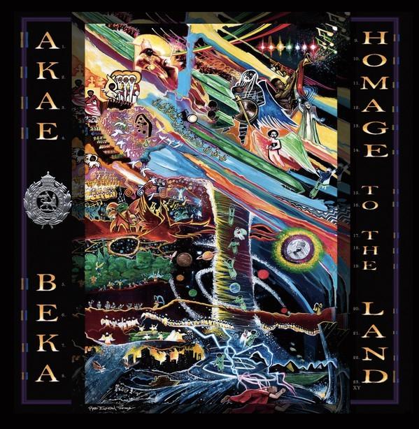 Akae Beka : Homage To The Land | LP / 33T  |  Dancehall / Nu-roots