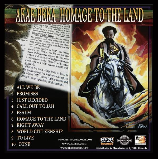 Akae Beka : Homage To The Land   LP / 33T     Dancehall / Nu-roots