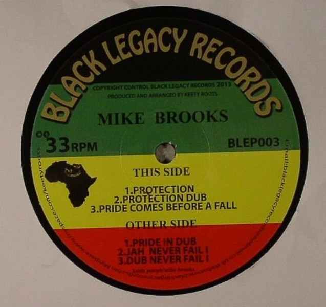 Mike Brooks : Protection | Maxi / 10inch / 12inch  |  Dancehall / Nu-roots