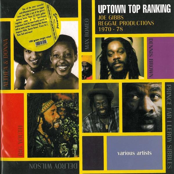 Various : Uptown Top Ranking - Joe Gibbs Reggae Productions 1970-78 | LP / 33T  |  Oldies / Classics
