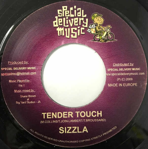 Sizzla : Tender Touch | Single / 7inch / 45T  |  Dancehall / Nu-roots