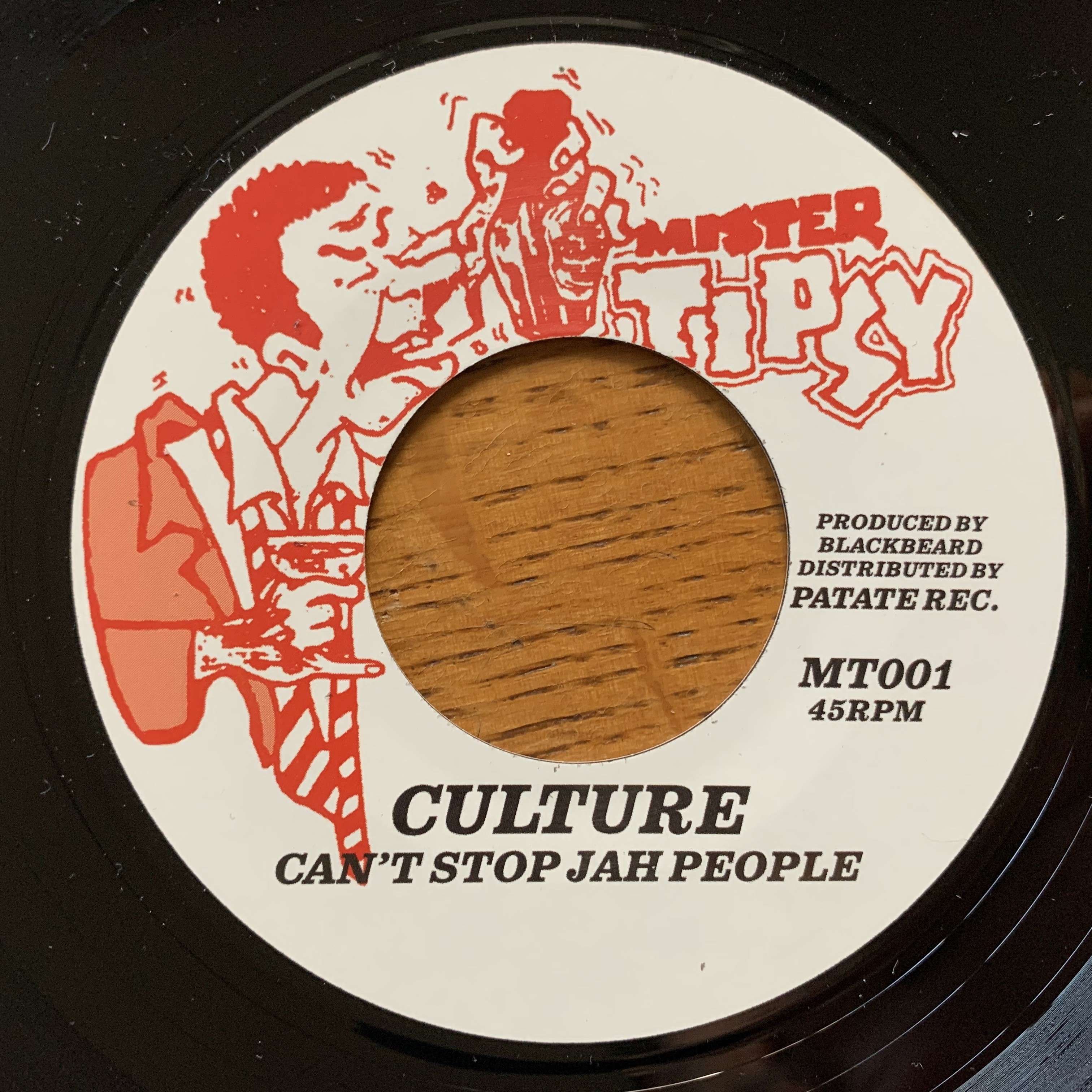 Culture : Can'T Stop Jah People | Single / 7inch / 45T  |  Oldies / Classics