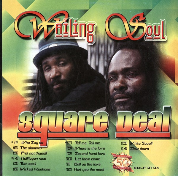 Wailing Souls : Square Deal   LP / 33T     Oldies / Classics