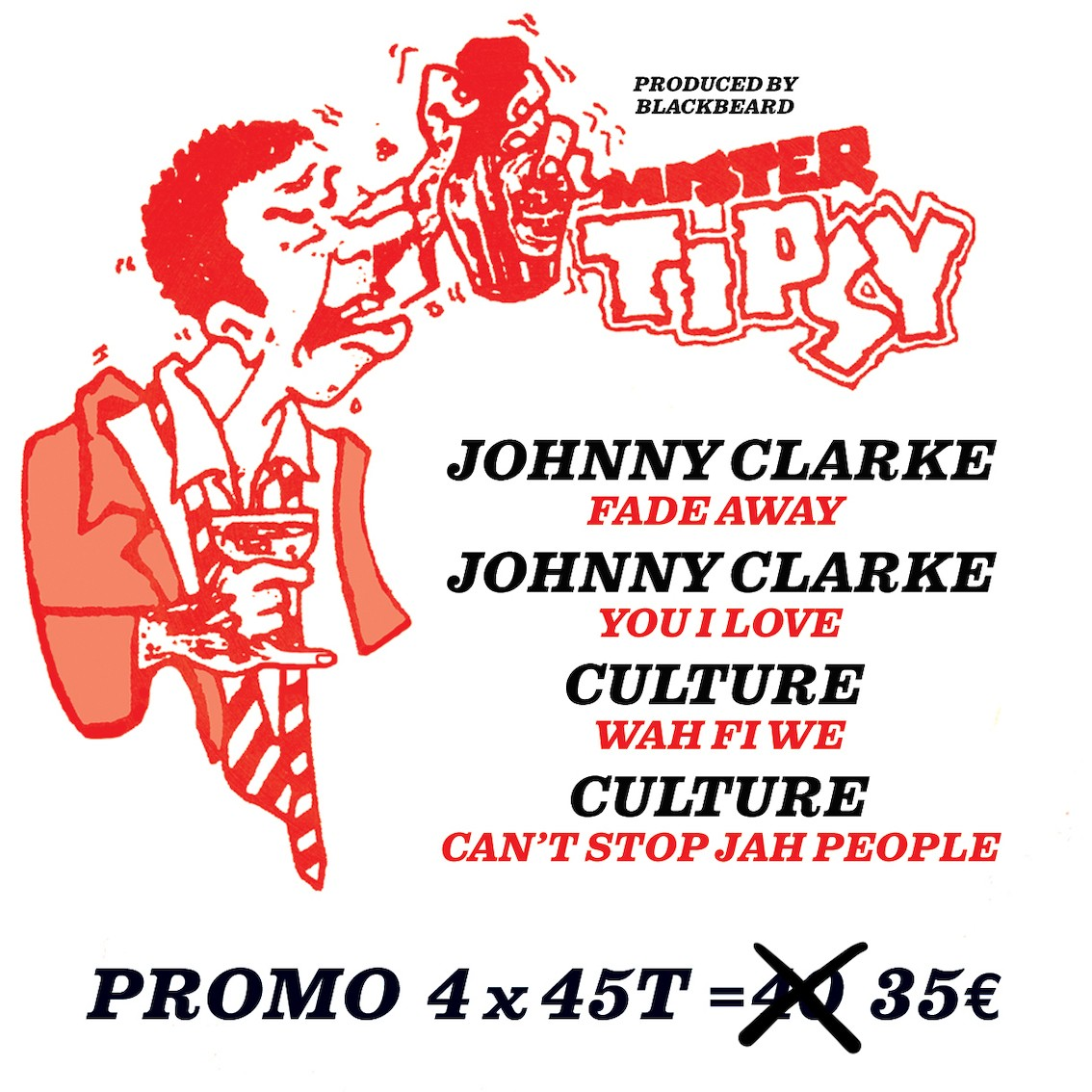 Culture / Johnny Clarke : Wah Fi We / Can'T Stop Jah People / Fade Away / You I Love | Single / 7inch / 45T  |  Oldies / Classics