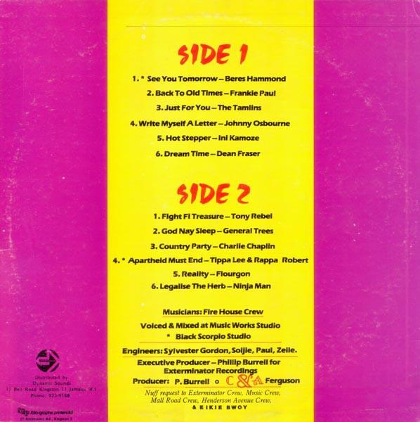 Various : Exterminator Presents | LP / 33T  |  Oldies / Classics