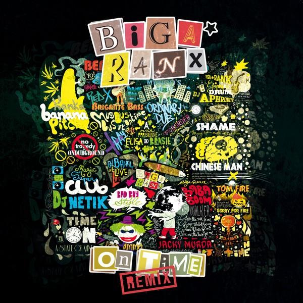Biga Ranx : On Time Remix   LP / 33T     Dancehall / Nu-roots