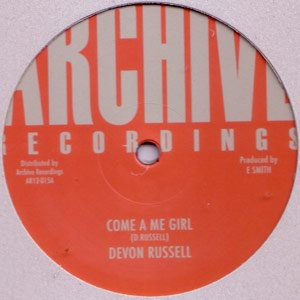 Devon Russell : Come A Me Girl | Maxi / 10inch / 12inch  |  Oldies / Classics