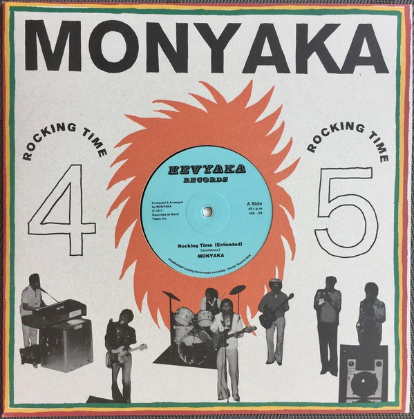 Monyaka : Rocking Time ( Extented )   Maxi / 10inch / 12inch     Oldies / Classics