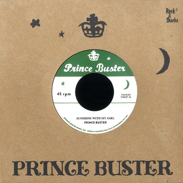Prince Buster : Sunshine With My Girl | Single / 7inch / 45T  |  Oldies / Classics