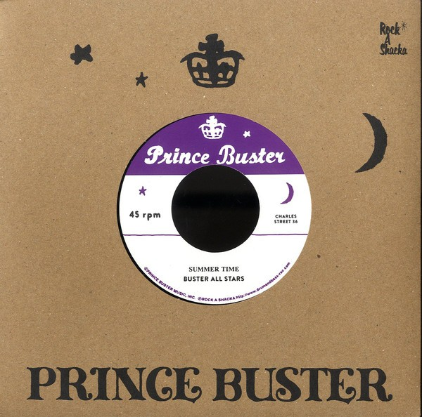 Buster All Stars : Summer Time | Single / 7inch / 45T  |  Oldies / Classics