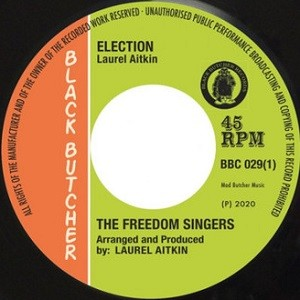 The Freedom Singers : Election | Single / 7inch / 45T  |  Oldies / Classics