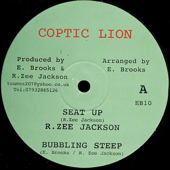 R Zee Jackson : Seat Up   Maxi / 10inch / 12inch     UK