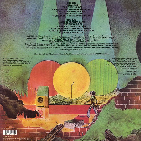 Dillinger Verses Trinity : Clash | LP / 33T  |  Oldies / Classics