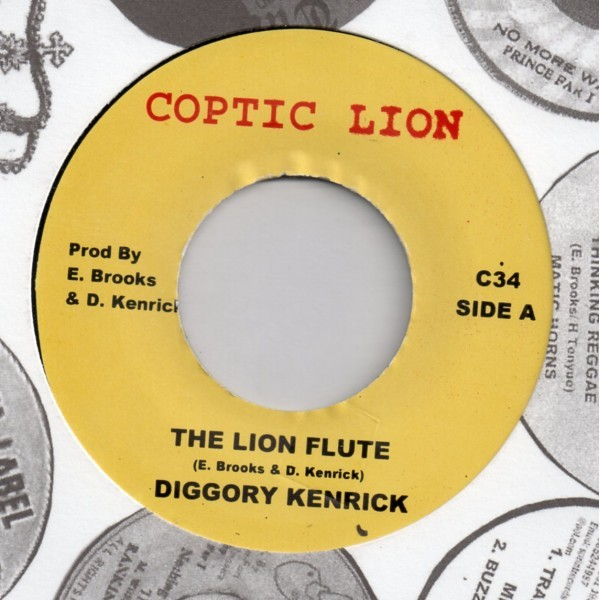 Diggory Kenrick : The Lion Flute | Single / 7inch / 45T  |  Oldies / Classics