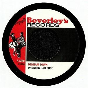 Winston & George : Denham Town   Single / 7inch / 45T     Oldies / Classics