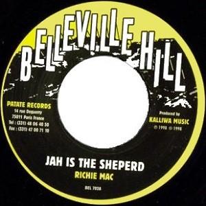 Richie Mac : Jah Is The Sheperd   Single / 7inch / 45T     UK