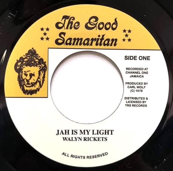 Walyn Rickets : Jah Is My Light   Single / 7inch / 45T     Oldies / Classics