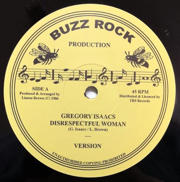 Gregory Isaacs : Disrespectful Woman | Maxi / 10inch / 12inch  |  Oldies / Classics