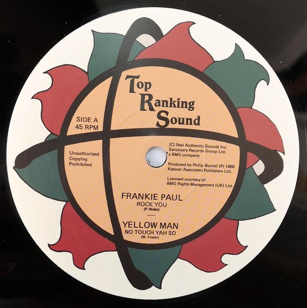Frankie Paul : Rock You   Maxi / 10inch / 12inch     Oldies / Classics
