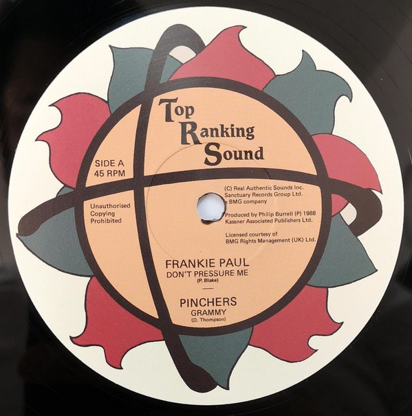 Frankie Paul : Don't Pressure Me   Maxi / 10inch / 12inch     Oldies / Classics