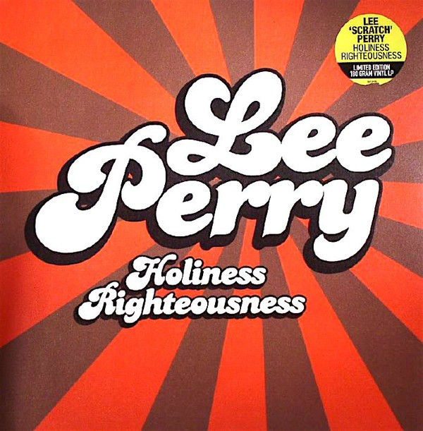 Lee Perry : Holiness Righteousness | LP / 33T  |  Oldies / Classics