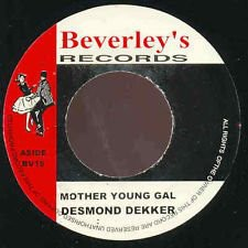 Desmond Dekker : Mother Young Gal | Single / 7inch / 45T  |  Oldies / Classics
