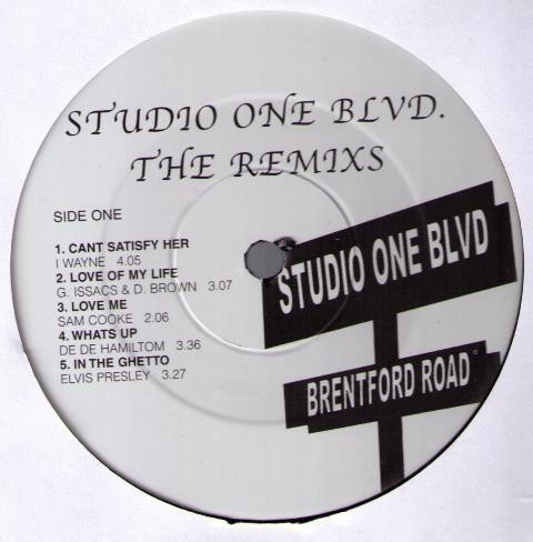 Various : Studio One Blvd. - The Remixs | LP / 33T  |  Dancehall / Nu-roots