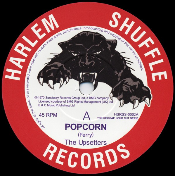 The Upsetters : Popcorn   Single / 7inch / 45T     Oldies / Classics