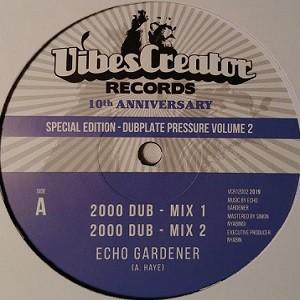 Echo Gardener : 2000 Dub | Maxi / 10inch / 12inch  |  UK