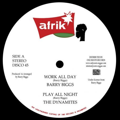 Barry Biggs : Work All Day