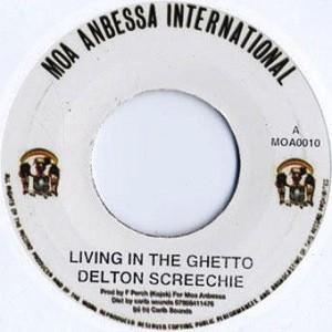 Delton Screechie : Living In The Ghetto | Single / 7inch / 45T  |  Oldies / Classics
