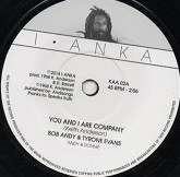 Bob Andy & Tyrone Evans : You And I Are Company | Single / 7inch / 45T  |  Oldies / Classics