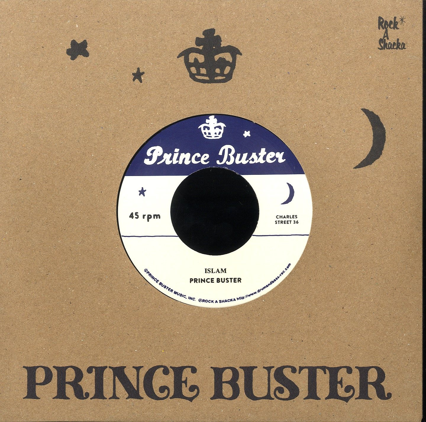 Prince Buster : Islam | Single / 7inch / 45T  |  Oldies / Classics