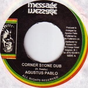 Augustus Pablo : Corner Stone Dub