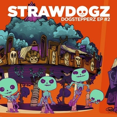Strawdogz Ft Horace Andy : Dogstepperz EP 2 | Maxi / 10inch / 12inch  |  Dancehall / Nu-roots